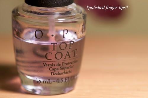 OPI Top Coat - disaster