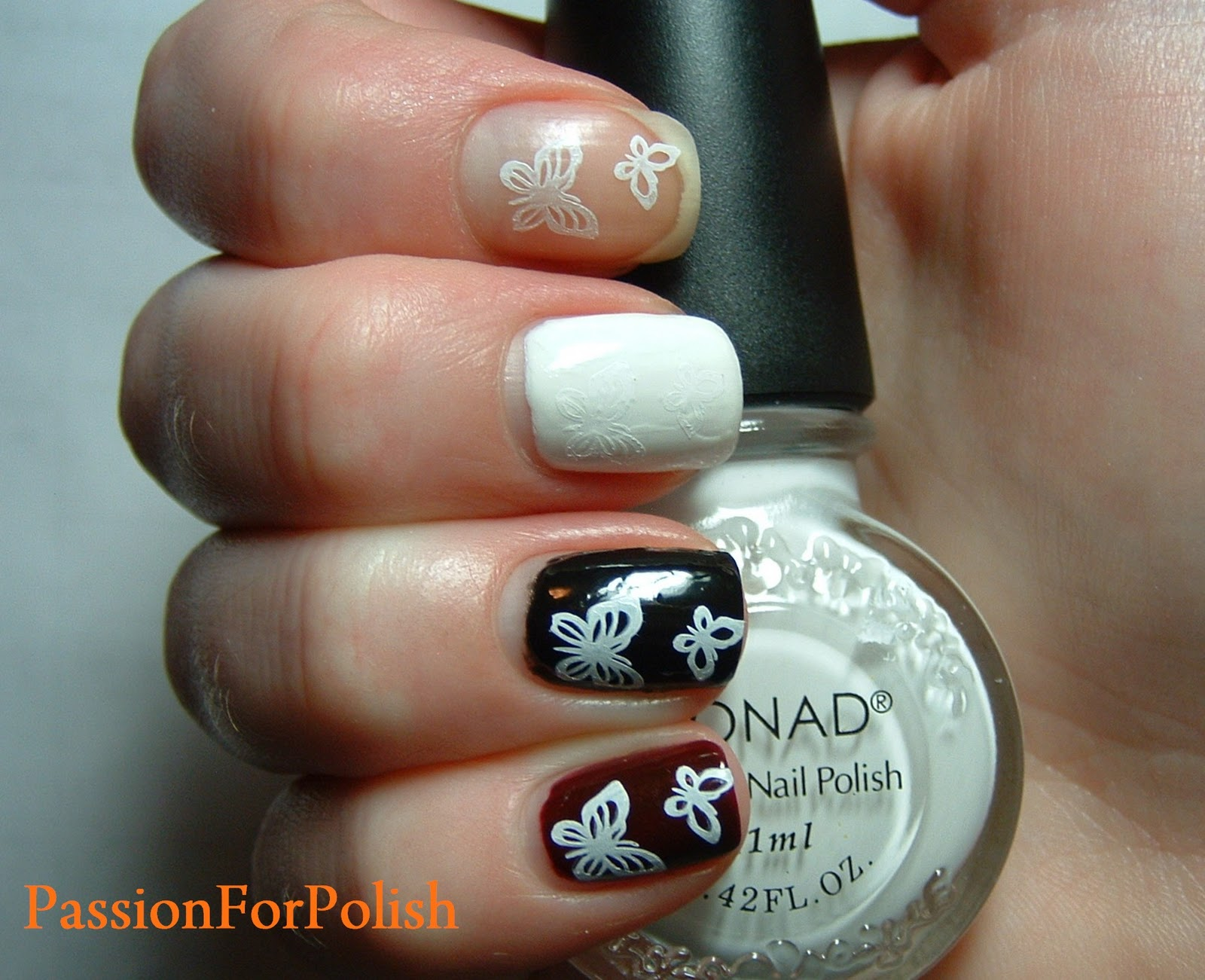 For more Konad Special Polish and Konad Princess Special Polish swatches see Siobhan's post at The Nailphile.