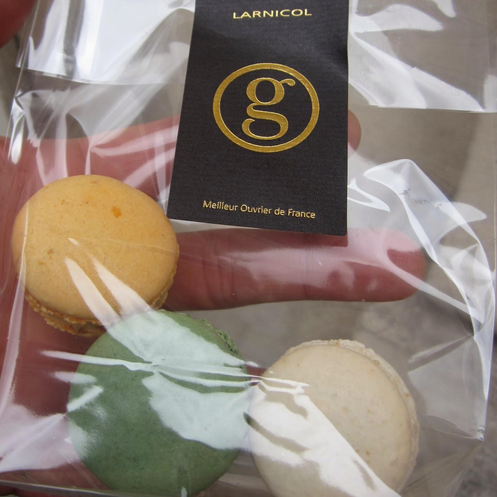 Georges Larnicol macarons Paris France