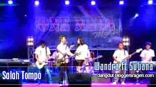 Lirik Lagu Salah Tompo Wandra Feat Suliana