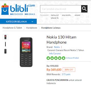 Daftar HP Nokia di Bawah 500 Ribu-an (Oktober 2015)