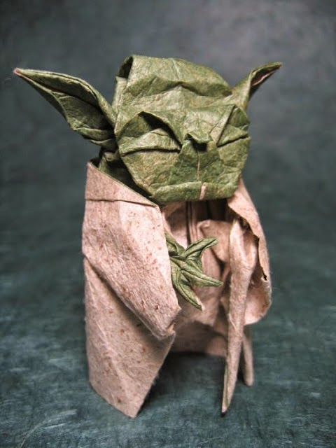 how to make origami yoda