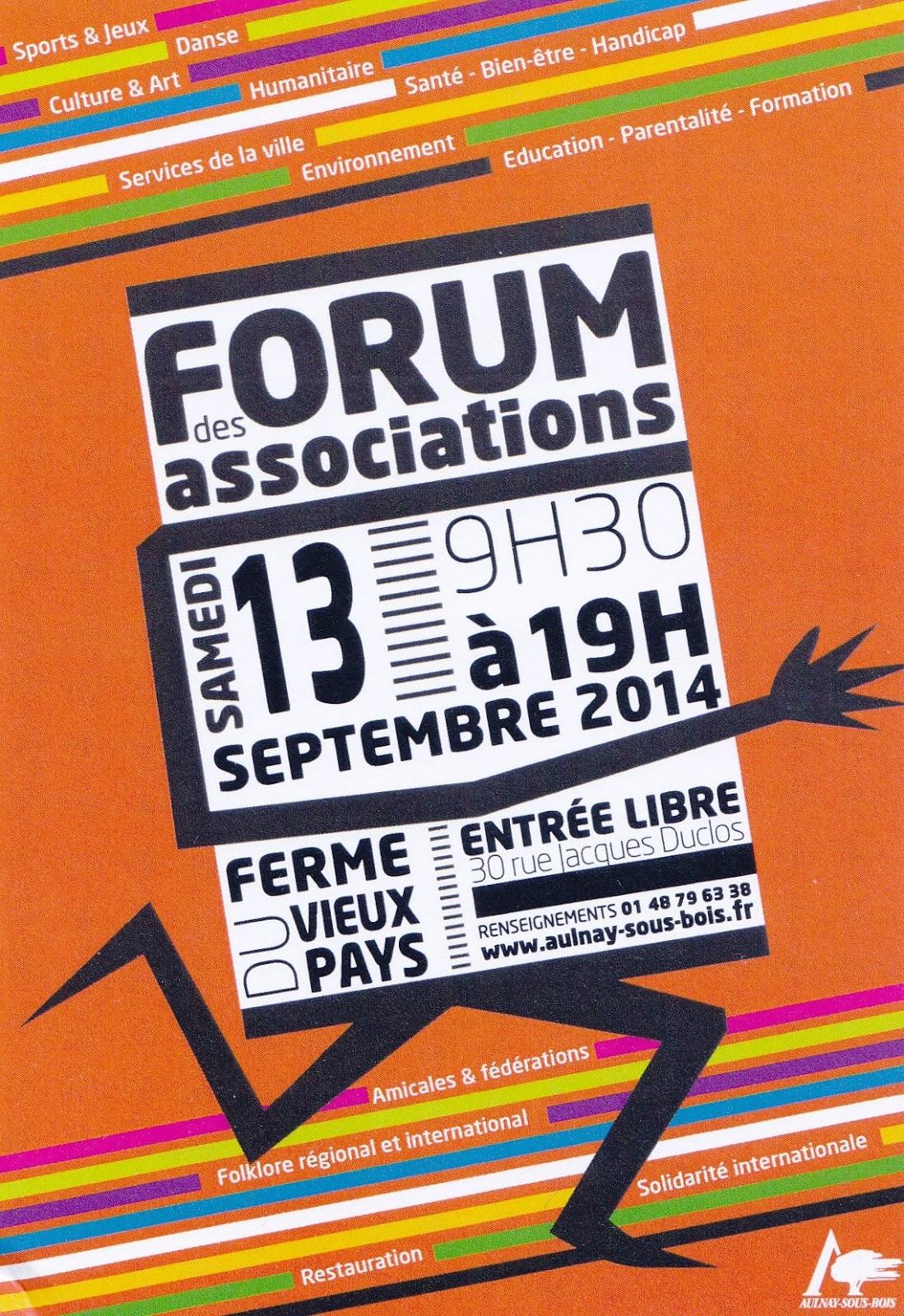 AulnaySousBois et Alentours Forum des associations à AulnaySous