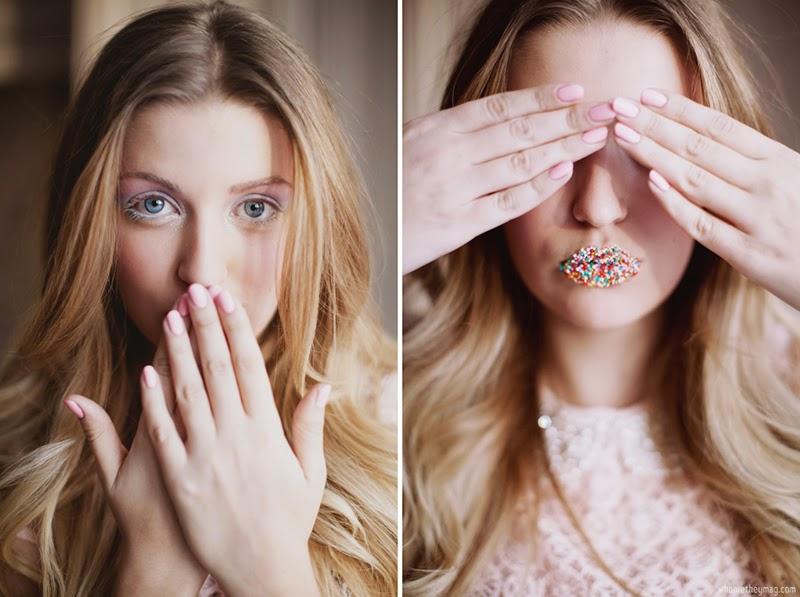 Конфетный макияж для Нового года