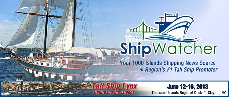 The Ship Watcher - Your 1000 Islands Shipping Blog &amp; News Source