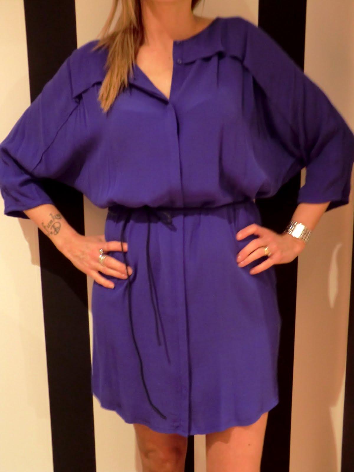 Har varit på lite tjejmys efter jobbet och kom just hem! Idag packade jag  upp denna fina kornblå klänning från SELECTED FEMME som jag personligen har  väntat ... 311feadfd5eeb