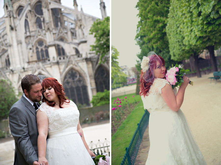 notre dame wedding, paris