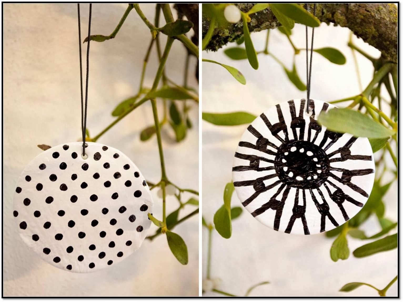 weihnachten diy no 4 fimo air baumschmuck im marimekko. Black Bedroom Furniture Sets. Home Design Ideas