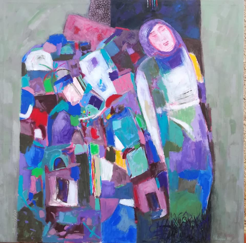 art of occupied palestine