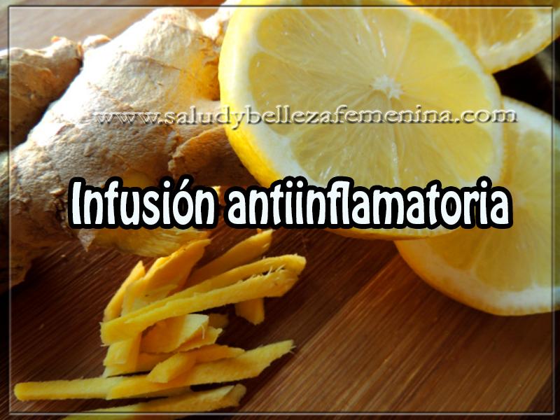 Bebidas saludables , salud ,  infusión antiinflamatoria