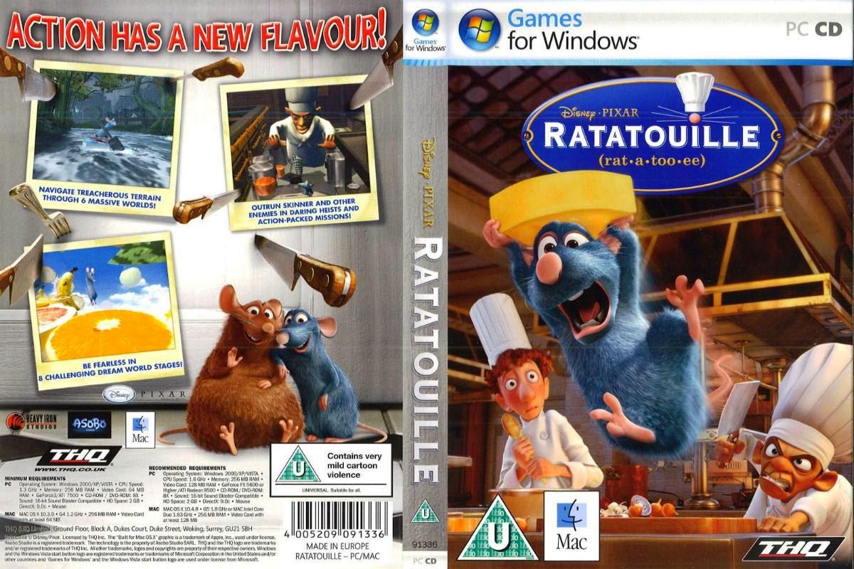 تحميل لعبة Ratatouille الفار طباخ بدون تثبيت