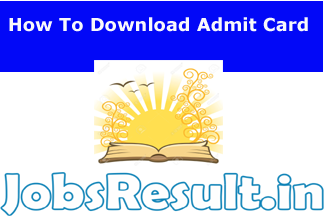How To Download Admit Card