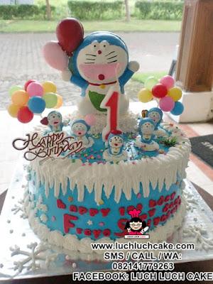 Kue Tart Doraemon Lucu
