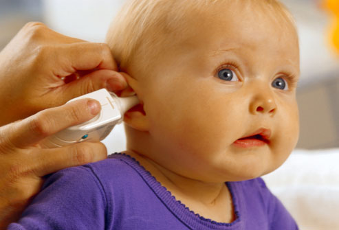 Ear infections often happen because the tube that connects the throat ...