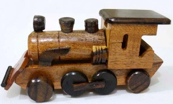 Kerajinan dari bahan keras, kayu kereta
