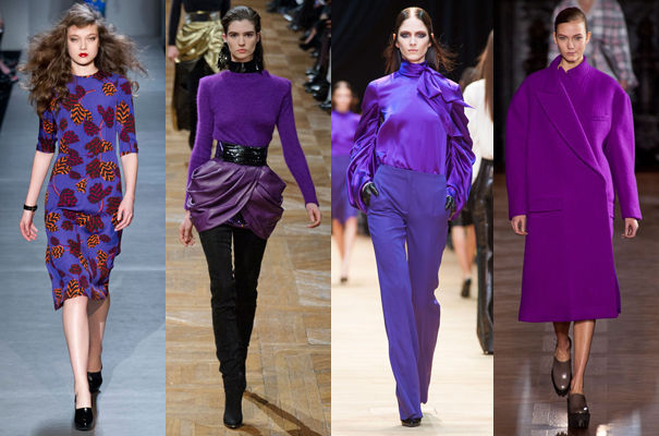 au fil d 39 ariane l 39 automne hiver sera violet. Black Bedroom Furniture Sets. Home Design Ideas