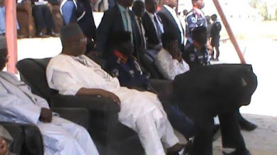NSCDC defends Minister whose shoe wascleaned by an officer, says it's a mark of respect