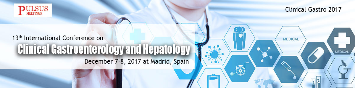 13<sup>th</sup> International Conference on Clinical Gastroenterology &amp; Hepatology
