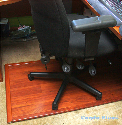 Put The Wood Chair Mat Under Your Desk, Put Your Office Chair On Top, And  Get To Work!