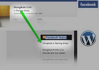 Menampilkan Status Facebook Pada Blog Wordpress