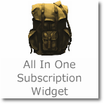 Add 'All in one Subscription widget' below posts in Blogger
