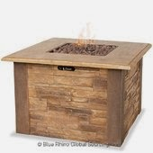 LP Gas Firepit by Blue Rhino
