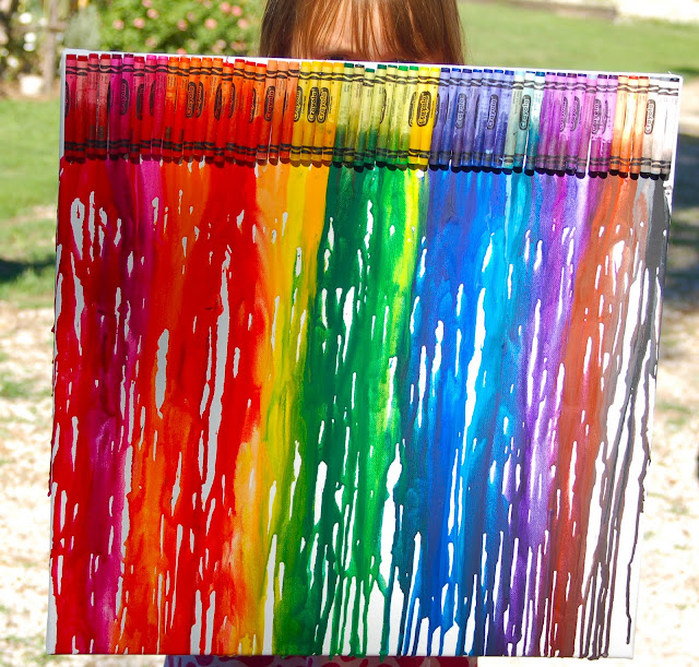More showcase features from last week39s party and for What kind of paint to use on kitchen cabinets for rainbow canvas wall art