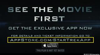 Star Trek Super Bowl commercial AppStore