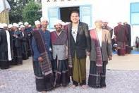 DPD Parlindungan Purba bersama tetua Parmalim