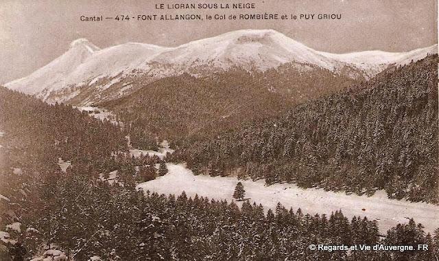 CPA Auvergne, Le Lioran sous la neige