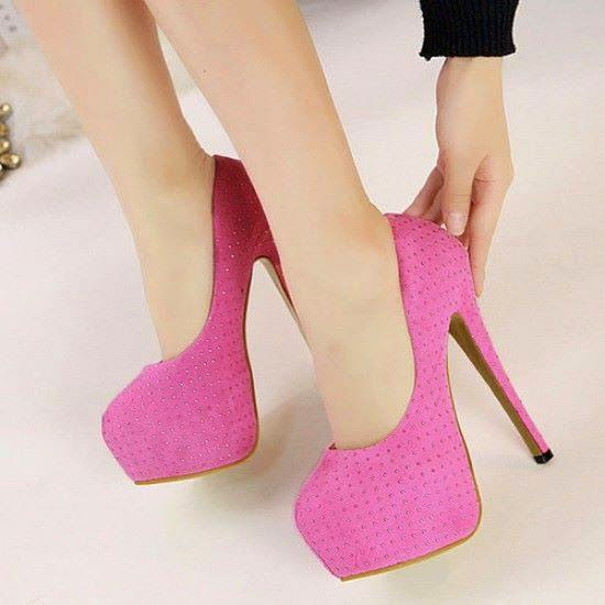 Women's Platform High Heels (three Deigns)