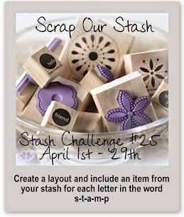 Stash Challenge #25~ Word Challenge
