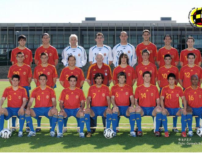 Hilo de la selección de España Spain-2006