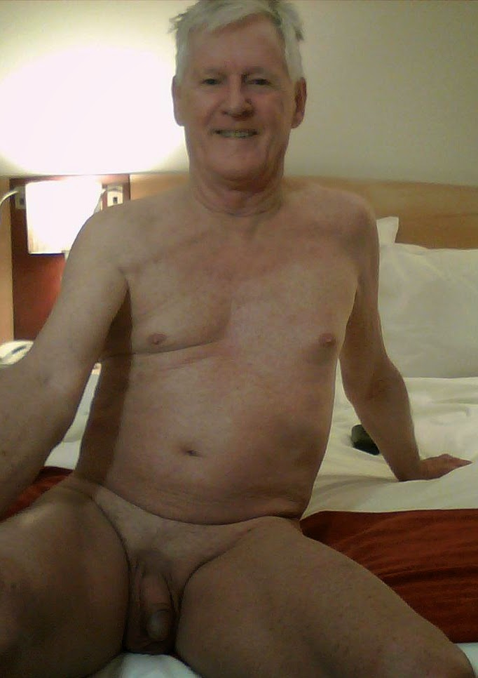 Old man mature naked
