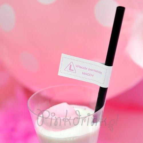 Jak świętować panieński? Najlepiej różowym drinkiem! ;-)
