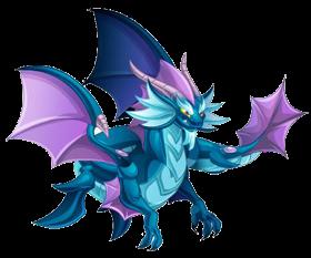 imagen del dragon mar doble de dragon city