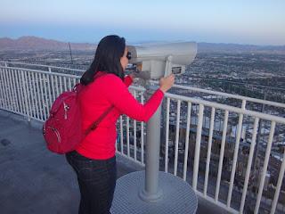 topo da torre do stratosphere casino - las vegas