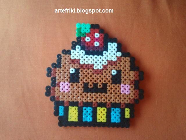 Hama beads los grandes arte friki for Manualidades con bolitas