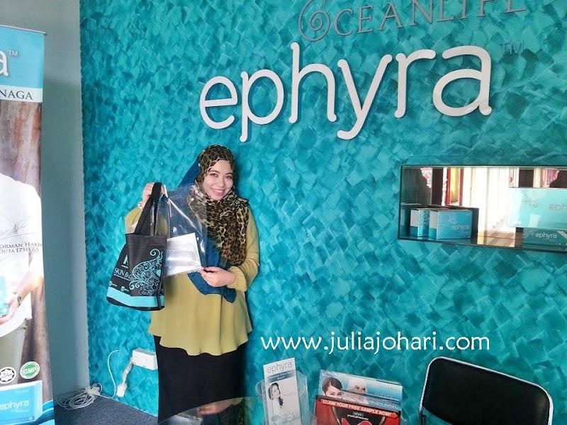 Live Update Borong Stok Ephyra Skin Bar di Ibu Pejabat Oceanlife2u