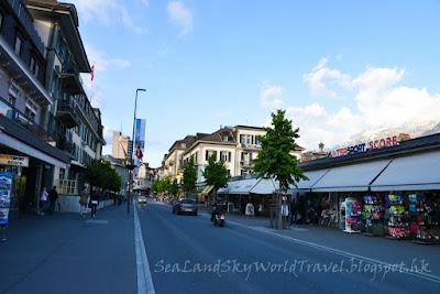 瑞士, 自由行, Interlaken 因特拉肯