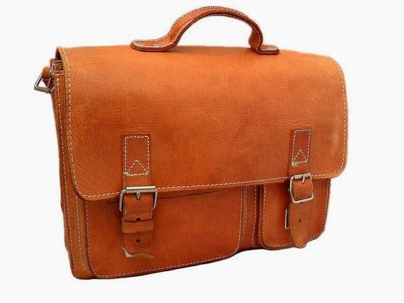 Leather Bag LarkVintage