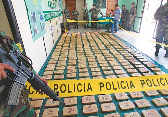 Drogas en Santa Cruz, Bolivia