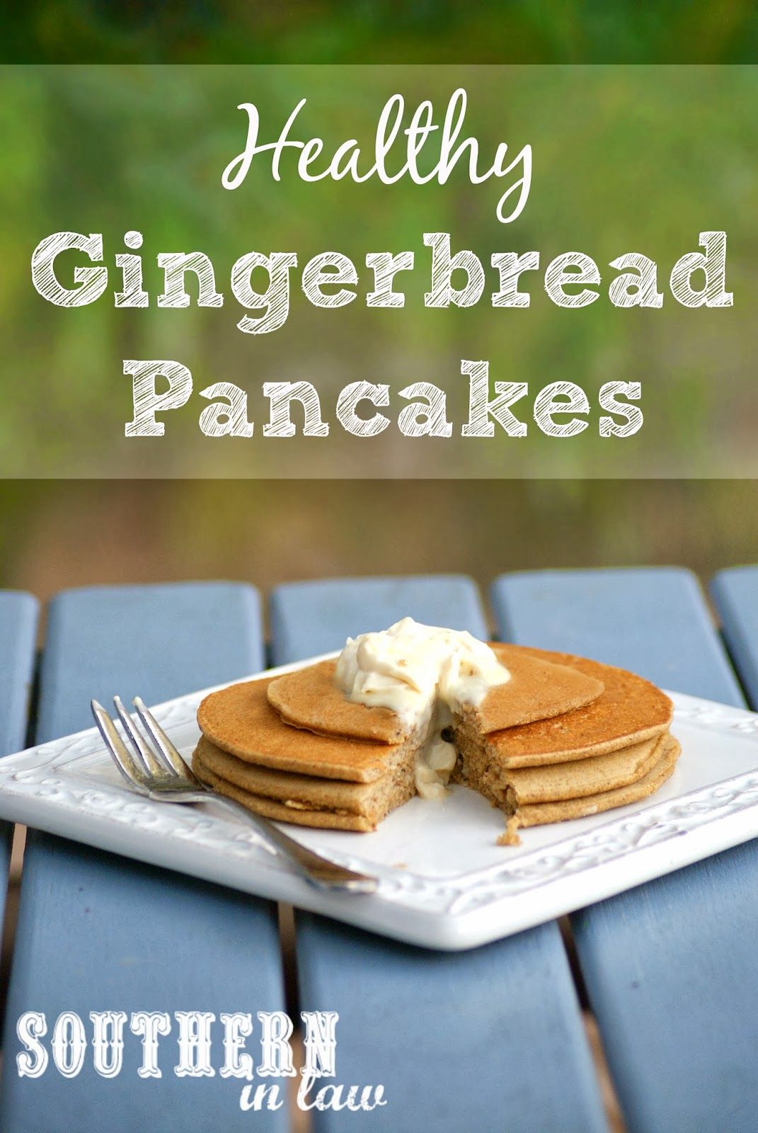 Healthy Gingerbread Pancakes Recipe