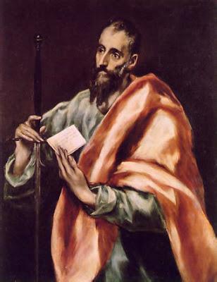 Imagen de San Pablo de El Greco.