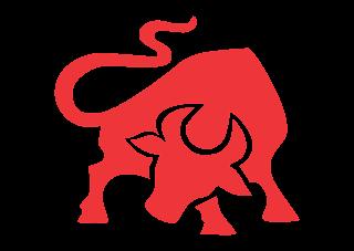 Burger ranch bull Logo Vector
