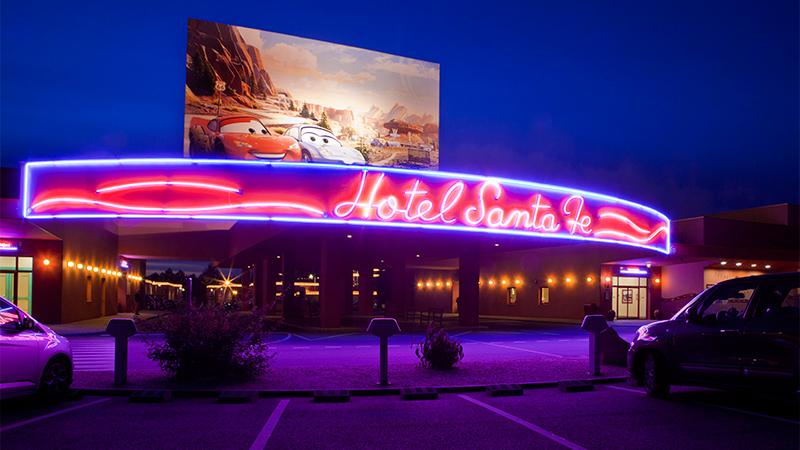 Habitaciones familiares del hotel santa fe en disneyland par s para familias numerosas - Chambre hotel santa fe disney ...