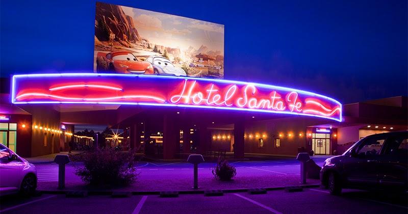 Habitaciones familiares del hotel santa fe en disneyland for Hoteles familias numerosas