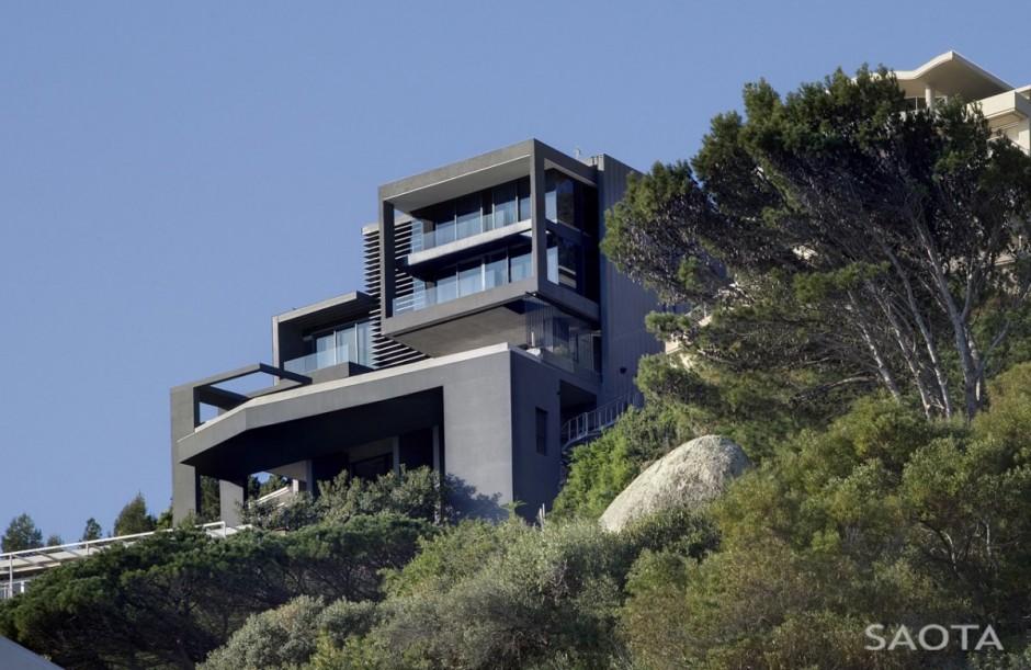 Rich African Houses Modern Capetown Mansio...