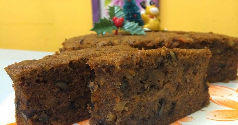 Simple Carrot Cake Without Oven