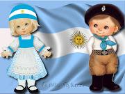 LA BANDERA ARGENTINA . DESTINATARIOS: Alumnos de 4to grado EGB rmninoargentinaandytoons